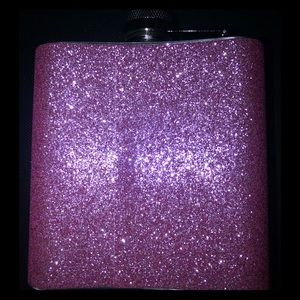 Other - Pink Glitter Flask